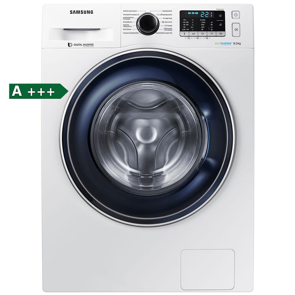Samsung WW80J5445FW/LV Πλυντήριο Ρούχων 8kg
