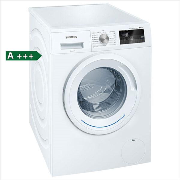 Siemens WM12N068GR πλυντήριο ρούχων εμπρόσθιας φόρτωσης, χωρητικότητας 8 kg, 1200 στροφών, ενεργειακής κλάσης A+++ με νέο τύπου μοτέρ iQdrive, το οποίο δεν διαθέτει ψήκτρες και προσφέρει εξαιρετικά επίπεδα απόδοσης.