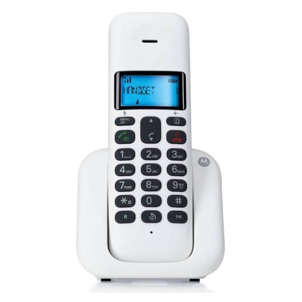 Motorola T301 White Ασύρματο Τηλέφωνο