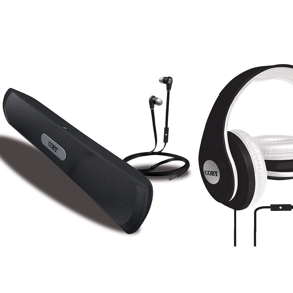 Coby Fusion Combo Kit 3 σε 1 (Headset-Ηχείο-Handsfree)