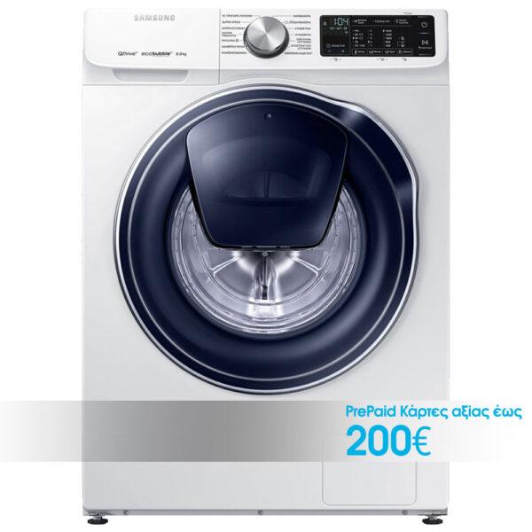 Samsung WW80M644OPW/LV Πλυντήριο Ρούχων 8kg