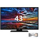 "Kendo 43UHD187SM Smart 4K Ultra HD D-LED τηλεόραση 43"" τεχνολογίας D-LED, με ανάλυση 4K Ultra HD, συχνότητα σάρωσης εικόνας 1200 CPM, Netflix και λειτουργία Hotel Mode."