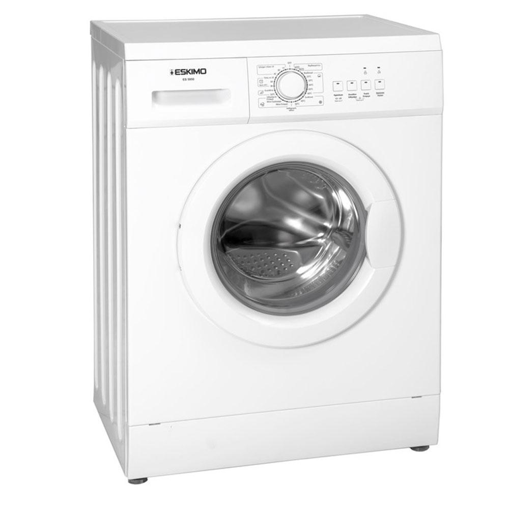 Eskimo ES 5950 πλυντήριο ρούχων εμπρόσθιας φόρτωσης, χωρητικότητας 5kg, 800 στροφών, με 8 προγράμματα και ενεργειακής κλάσης A+.