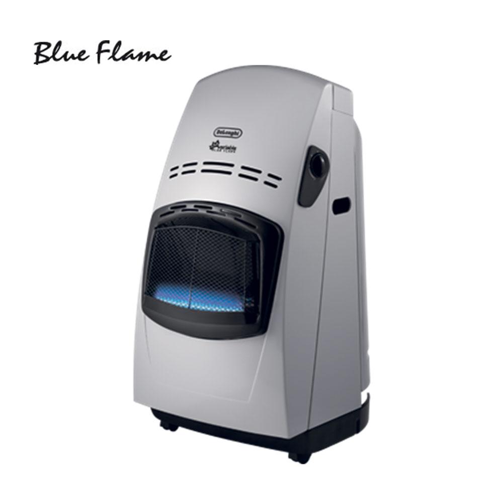 Delonghi VBF Blue Flame θερμάστρα υγραερίου, ισχύος 4200W, με μεταλλικό κάλυμα πλάτης, χειροκίνητη ρύθμιση ισχύος και αποκλειστικό διπλό σύστημα ασφάλειας.