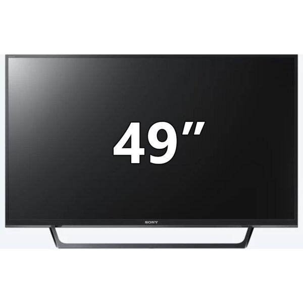 "Sony KDL49WE660BAEP Led Full HD TV 49"", με επεξεργασία εικόνας X-Reality Pro, τεχνολογία HDR και άμεση πρόσβαση στο YouTube™ με ένα κλικ."