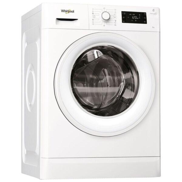 Whirlpool FWG91484W πλυντήριο ρούχων εμπρόσθιας φόρτωσης, χωητικότητας 9kg, με οικονομική ταχύτητα στυψίματος 1400 περιστροφών ανά λεπτό, ενεργειακής κλάσης A+++ -10% και τεχνολογία 6ης αίσθησης.