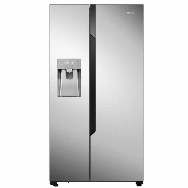 Hisense RS694N4TC2 Ψυγείο Ντουλάπα Inox, συνολικής καθαρής χωρητικότητας 535 λίτρων, ενεργειακής κλάσης Α++, με λειτουργία Super Freeze & Holiday και σύστημα κυκλοφορίας αέρα Multi Air Flow.