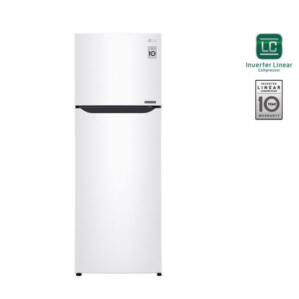 LG GTB382SHCZD Δίπορτο Ψυγείο 209lt