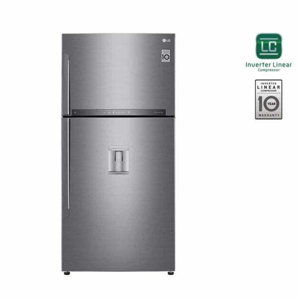 LG GTF925PZPZD Δίπορτο Ψυγείο 568lt