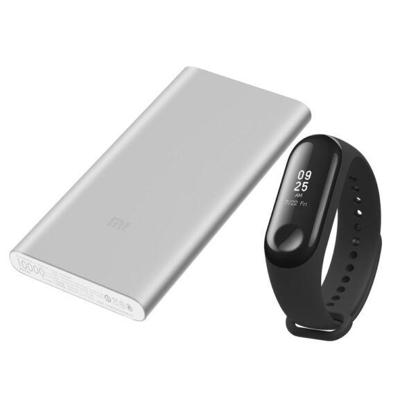 Mi Band 3+PowerBank 10000 2S Silver Bundle