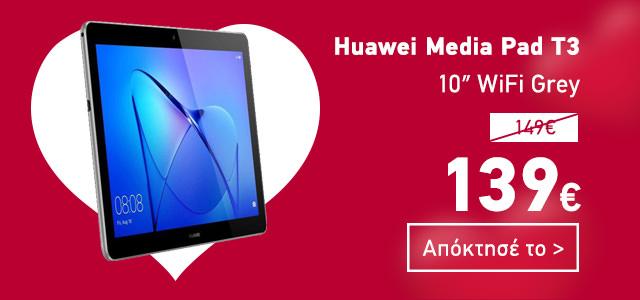 Huawei Media Pad T3 10″ WiFi Grey