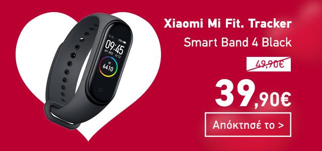 Xiaomi Mi Fitness Tracker Smart Band 4 Black